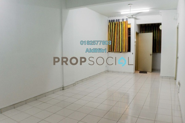 For Rent Apartment at Pesona Apartment, Kajang Freehold Unfurnished 3R/2B 1k