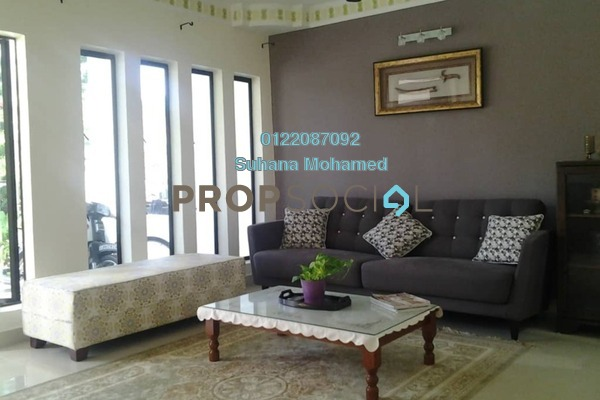 For Sale Terrace at Puncak Perdana, Shah Alam Freehold Semi Furnished 3R/3B 480k