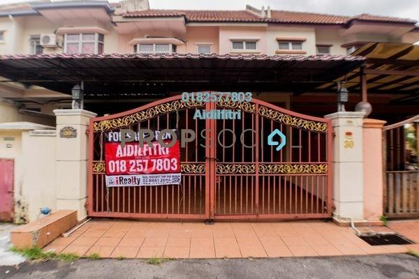 For Sale Terrace at Section 3, Bandar Mahkota Cheras Freehold Semi Furnished 4R/3B 550k