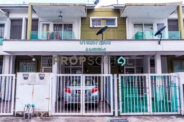 For Sale Townhouse at Pearl Villa, Bandar Saujana Putra Leasehold Semi Furnished 3R/2B 330k