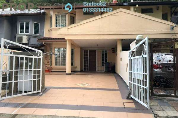 For Rent Link at Section 6 , Wangsa Maju Freehold Fully Furnished 4R/3B 2.3k