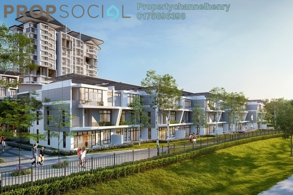 For Sale Townhouse at BP11, Bandar Bukit Puchong Leasehold Unfurnished 3R/3B 434k