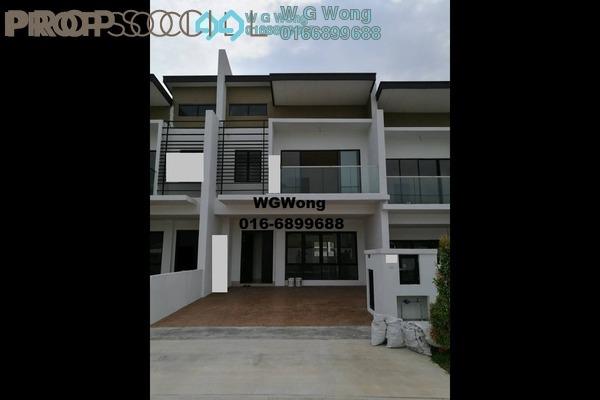 For Sale Superlink at Anggun 3, Rawang Freehold Unfurnished 4R/4B 689k