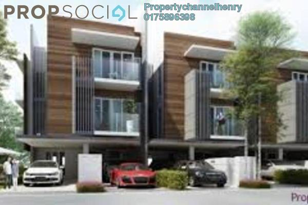For Sale Townhouse at BP14, Bandar Bukit Puchong Leasehold Unfurnished 3R/3B 434k
