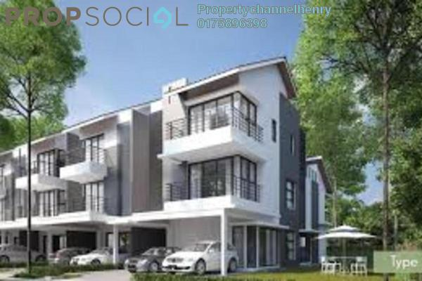 For Sale Townhouse at Puteri 9, Bandar Puteri Puchong Leasehold Unfurnished 3R/3B 434k