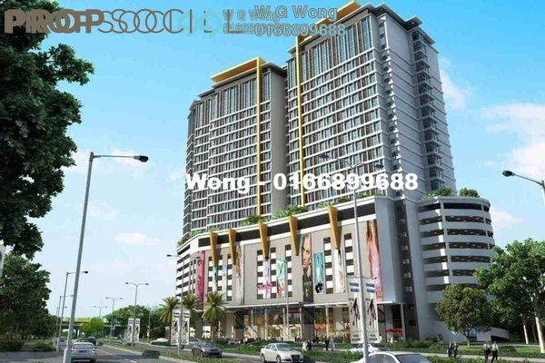 For Rent Office at Avenue Crest, Shah Alam Freehold Semi Furnished 1R/1B 1k