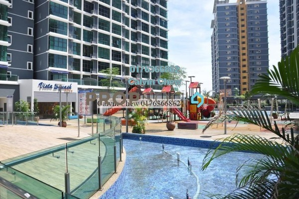 For Sale Serviced Residence at Vista Alam, Shah Alam Freehold Unfurnished 3R/2B 413k