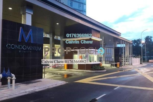 For Sale Condominium at M Condominium, Johor Bahru Freehold Unfurnished 3R/0B 301k