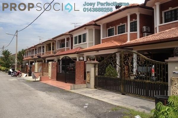 For Sale Terrace at SL7, Bandar Sungai Long Freehold Fully Furnished 4R/3B 650k