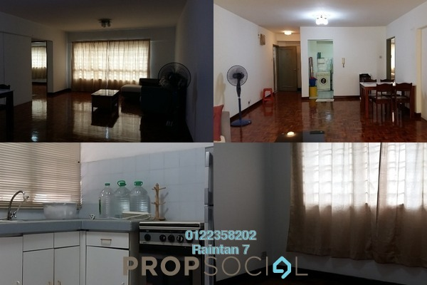 For Rent Condominium at OG Heights, Old Klang Road Freehold Semi Furnished 2R/2B 1.4k