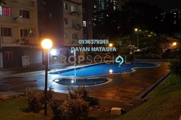 For Sale Condominium at Lestari Apartment, Bandar Sri Permaisuri Freehold Semi Furnished 3R/2B 350k