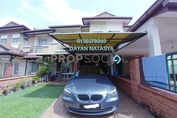 For Sale Terrace at Serambi, Bukit Jelutong Freehold Semi Furnished 4R/3B 840k