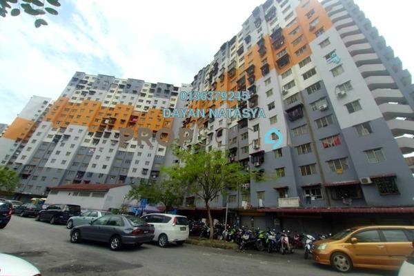 For Sale Apartment at Sri Penara, Bandar Sri Permaisuri Freehold Semi Furnished 3R/1B 245k