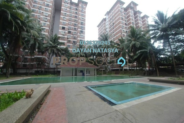 For Sale Condominium at Garden Park, Bandar Sungai Long Freehold Semi Furnished 3R/2B 280k