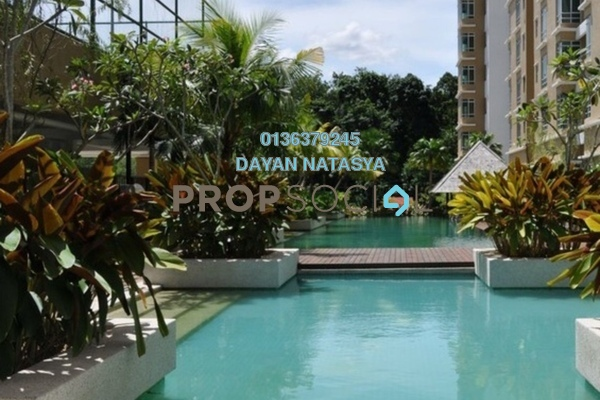 For Sale Condominium at Villa Park, Seri Kembangan Freehold Semi Furnished 3R/2B 350k