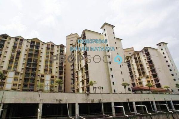 For Sale Apartment at Vista Lavender, Bandar Kinrara Freehold Semi Furnished 3R/2B 265k