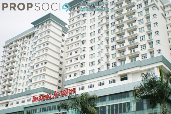 For Rent Condominium at Subang Avenue, Subang Jaya Freehold Fully Furnished 3R/2B 2.6k