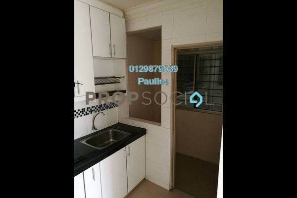 For Rent Apartment at Baiduri Courts, Bandar Bukit Puchong Freehold Semi Furnished 3R/2B 1k