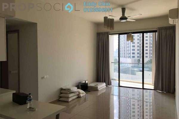 For Rent Condominium at Twin Arkz, Bukit Jalil Freehold Semi Furnished 2R/2B 2.5k