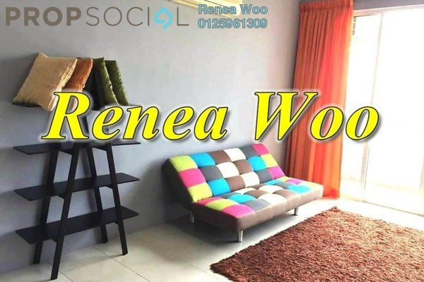 For Rent Condominium at BaysWater, Gelugor Freehold Fully Furnished 3R/2B 2.4k