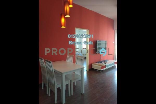 For Rent Condominium at Coastal Towers, Tanjung Bungah Freehold Semi Furnished 2R/2B 1.6k