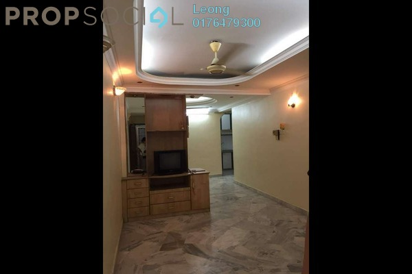 For Sale Apartment at Greenview Apartment, Kepong Freehold Semi Furnished 3R/2B 208k