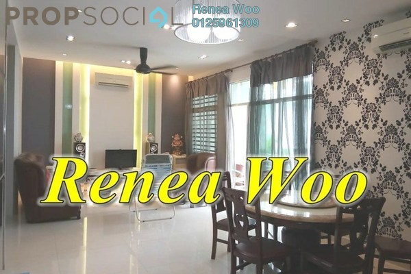For Rent Condominium at Ideal Regency, Bukit Gambier Freehold Fully Furnished 3R/2B 2.1k