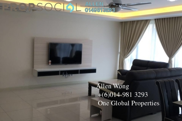 For Rent Condominium at Impiana Residences, Iskandar Puteri (Nusajaya) Freehold Fully Furnished 4R/3B 3.2k
