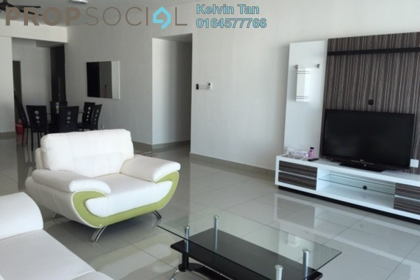 For Rent Serviced Residence at Summerton Bayan Indah, Bayan Indah Freehold Fully Furnished 3R/2B 3k