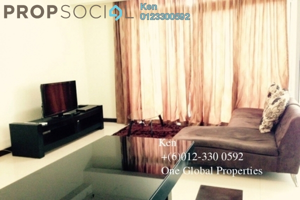 For Rent Condominium at Hampshire Place, KLCC Freehold Fully Furnished 1R/2B 3.3k