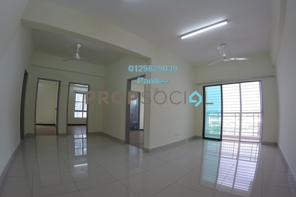 For Rent Condominium at Park 51 Residency, Petaling Jaya Freehold Semi Furnished 4R/2B 1.7k