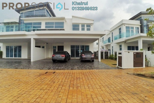 For Sale Semi-Detached at Perdana Lakeview East, Cyberjaya Freehold Unfurnished 6R/6B 1.65m