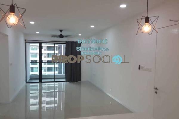For Rent Condominium at Paragon 3, Bandar Putra Permai Freehold Semi Furnished 3R/2B 1.6k