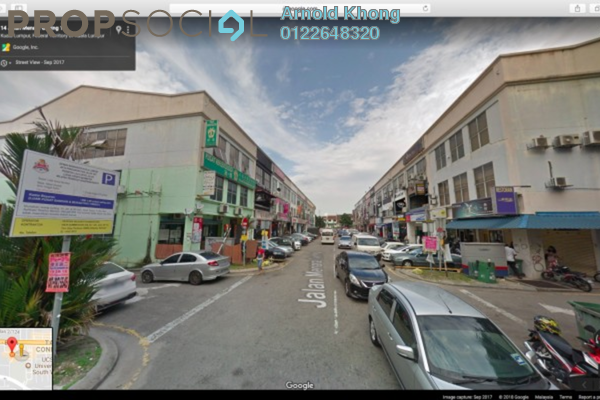 For Rent Shop at Taman Connaught, Cheras Freehold Unfurnished 0R/2B 2.7k