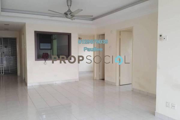 For Rent Apartment at Puteri Bayu, Bandar Puteri Puchong Freehold Semi Furnished 3R/2B 1.2k