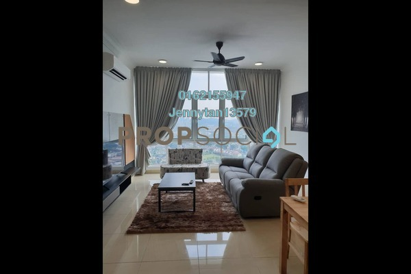 For Rent Condominium at Boulevard Serviced Apartment, Jalan Ipoh Freehold Fully Furnished 3R/2B 2.5k