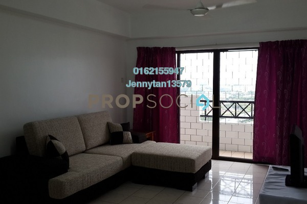 For Rent Condominium at Vista Komanwel, Bukit Jalil Freehold Fully Furnished 4R/3B 2k