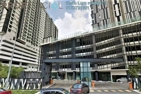 For Rent Condominium at Residency V, Old Klang Road Freehold Fully Furnished 2R/2B 2.4k