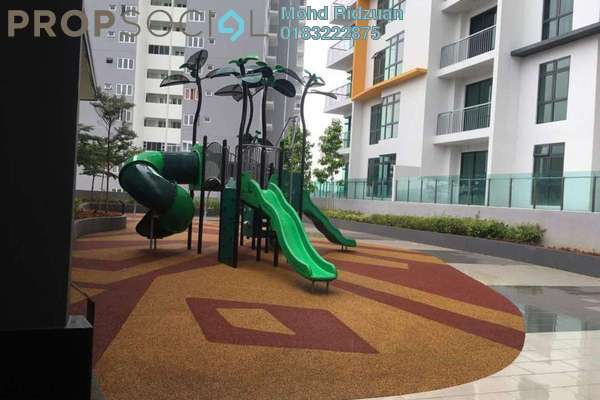 For Rent Serviced Residence at Radia Residences, Bukit Jelutong Freehold Semi Furnished 2R/2B 2.1k