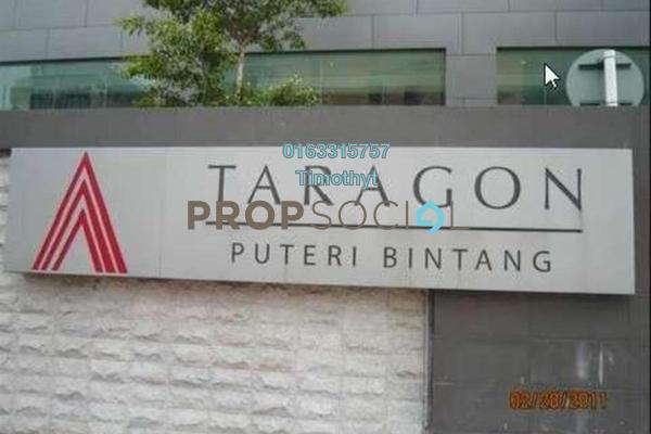 For Rent Condominium at Taragon Puteri Bintang, Pudu Freehold Fully Furnished 1R/1B 2k