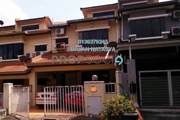 For Rent Terrace at Taman Bukit Kajang Baru, Kajang Freehold Semi Furnished 5R/4B 1.4k
