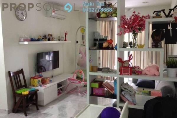 For Rent Apartment at Sri Damansara Court, Bandar Sri Damansara Freehold Semi Furnished 3R/2B 1.3k