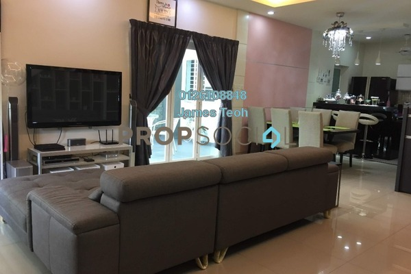For Sale Semi-Detached at Setia Impian, Setia Alam Freehold Fully Furnished 4R/3B 955k