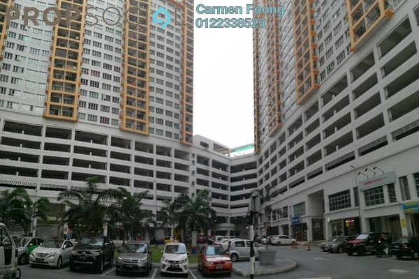 For Rent Condominium at OUG Parklane, Old Klang Road Freehold Semi Furnished 3R/2B 1.1k