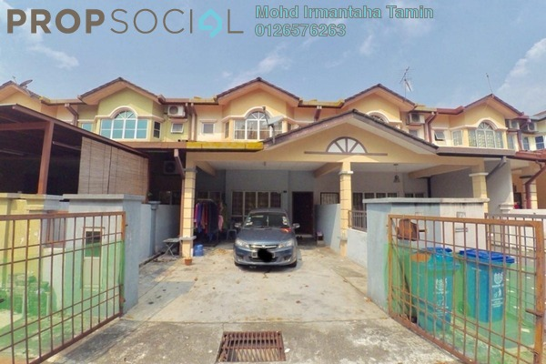 For Sale Terrace at Section 23, Shah Alam Freehold Unfurnished 4R/3B 520k
