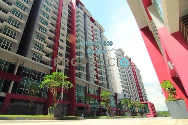 For Sale Condominium at Pacific Place, Ara Damansara Freehold Semi Furnished 1R/1B 420k