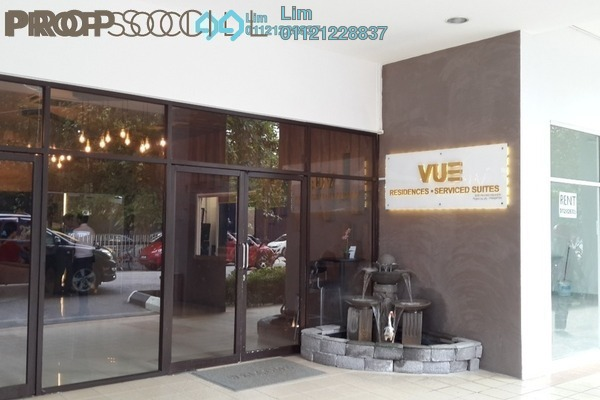 For Rent Condominium at Vue Residences, Titiwangsa Freehold Fully Furnished 3R/2B 2.9k