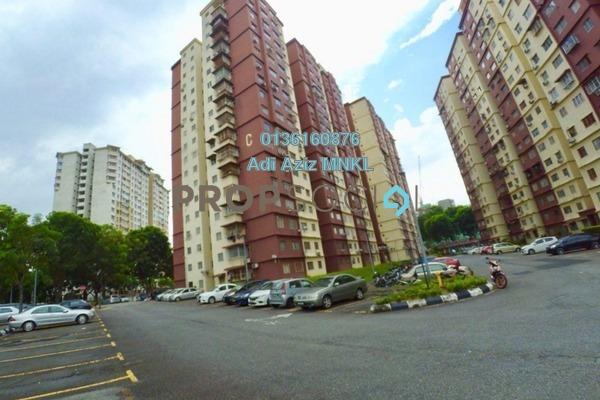 For Sale Apartment at Cemara Apartment, Bandar Sri Permaisuri Freehold Unfurnished 3R/2B 305k
