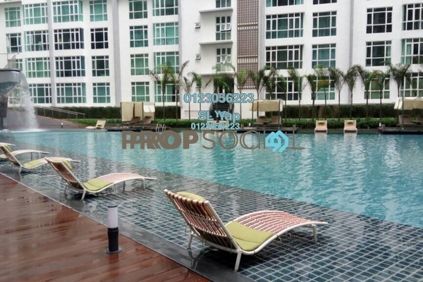 For Rent Condominium at Central Residence, Sungai Besi Freehold Semi Furnished 2R/2B 1.4k