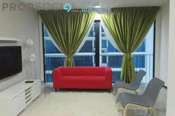 For Rent Condominium at Trefoil, Setia Alam Freehold Fully Furnished 2R/2B 1.8k